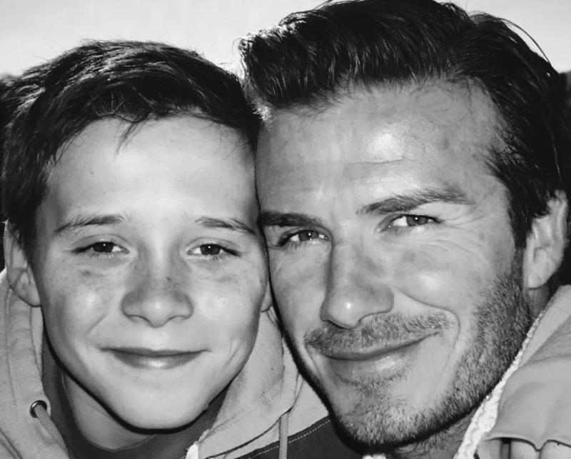 David Beckham Just Posted The Cutest Picture In Honor Of Brooklyns