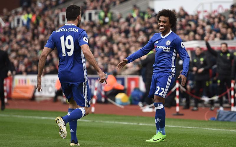 Stoke City vs Chelsea, Premier League: live score updates - Credit: AFP