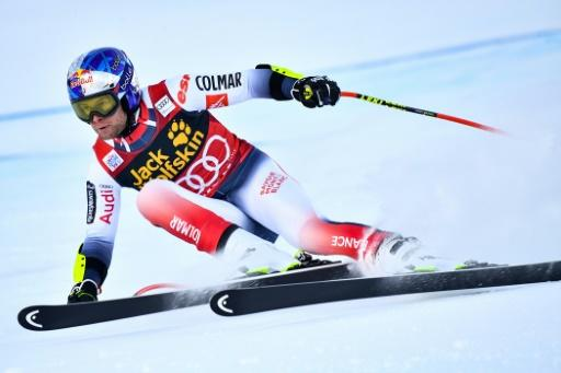 France's Alexis Pinturault claimed his third World Cup win of the season in the Alpine combined in Bormio