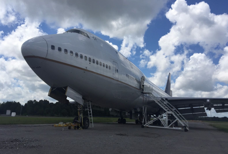 This real Boeing 747 jumbo jet is for sale on eBay