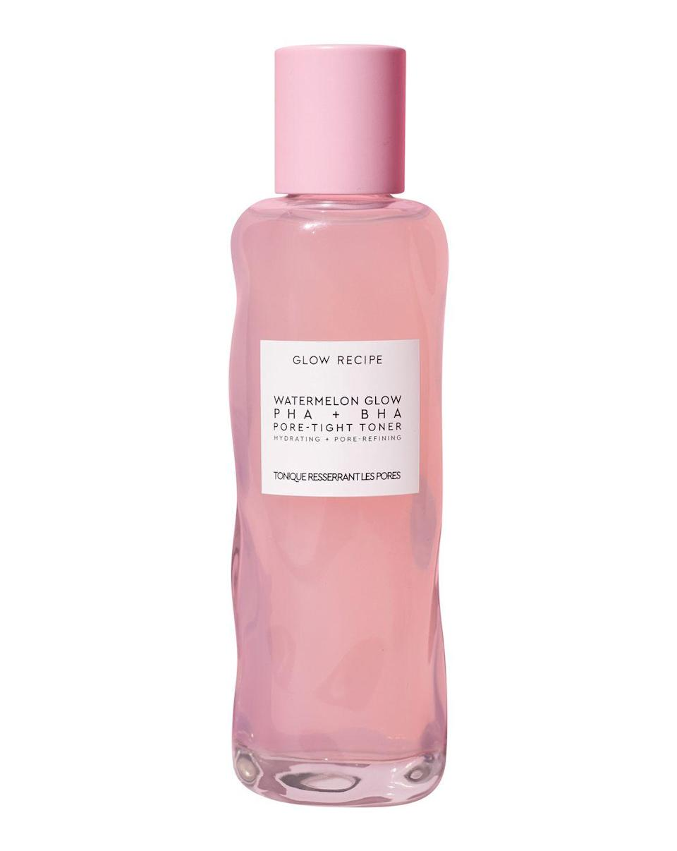 """<p><strong>Last year's deal: </strong>We'll jump at any chance to stock up on the <a href=""""https://www.glowrecipe.com/collections/bestsellers/products/watermelon-glow-pha-bha-pore-tight-toner"""" rel=""""nofollow noopener"""" target=""""_blank"""" data-ylk=""""slk:Watermelon Glow PHA+ BHA Pore-Tight Toner"""" class=""""link rapid-noclick-resp"""">Watermelon Glow PHA+ BHA Pore-Tight Toner</a>. Shop the toner and everything else on the site with 20% off.</p><p><a href=""""https://www.glowrecipe.com/"""" rel=""""nofollow noopener"""" target=""""_blank"""" data-ylk=""""slk:Glow Recipe"""" class=""""link rapid-noclick-resp""""><strong>Glow Recipe</strong> </a><a class=""""link rapid-noclick-resp"""" href=""""https://go.redirectingat.com?id=74968X1596630&url=https%3A%2F%2Fwww.glowrecipe.com%2F&sref=https%3A%2F%2Fwww.redbookmag.com%2Fbeauty%2Fg34669325%2Fblack-friday-cyber-monday-beauty-deals-2020%2F"""" rel=""""nofollow noopener"""" target=""""_blank"""" data-ylk=""""slk:SHOP"""">SHOP</a></p>"""