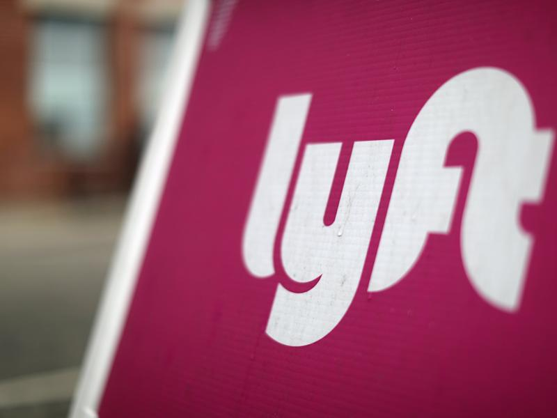 FILE PHOTO: The Lyft Driver Hub is seen in Los Angeles, California, U.S., March 20, 2019. REUTERS/Lucy Nicholson/File Photo