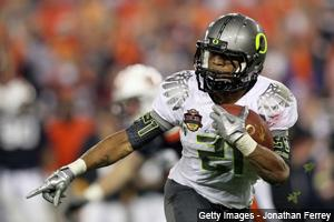 2nd-year RBs: LaMichael James