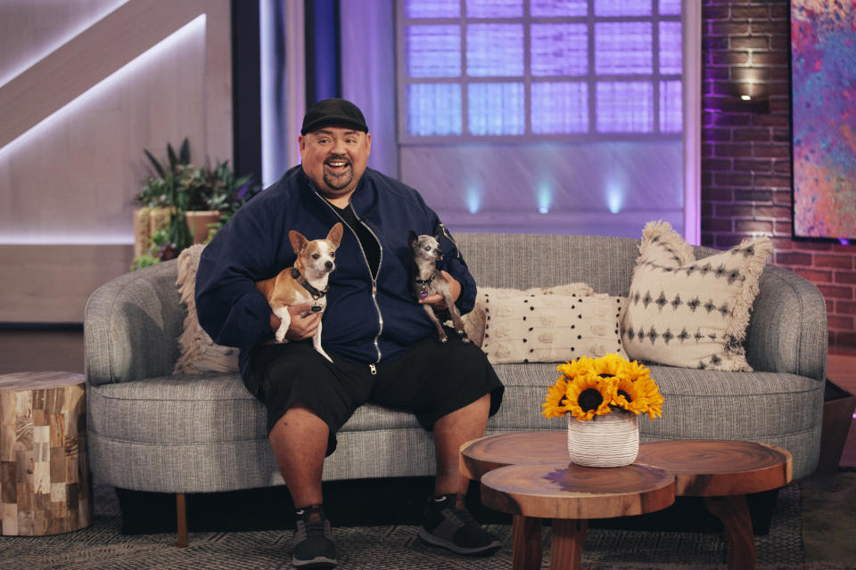 THE KELLY CLARKSON SHOW -- Episode 4072 -- Pictured: Gabriel Iglesias -- (Photo by: Weiss Eubanks/NBCUniversal)