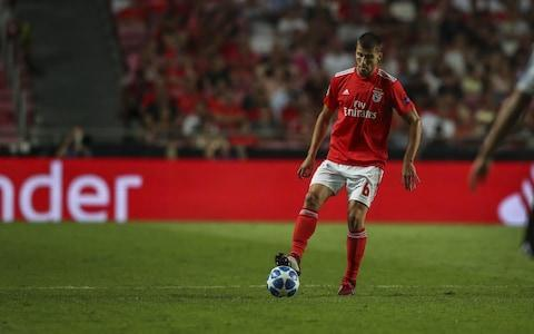 <span>Ruben Dias of Benfica during the match against PAOK</span>
