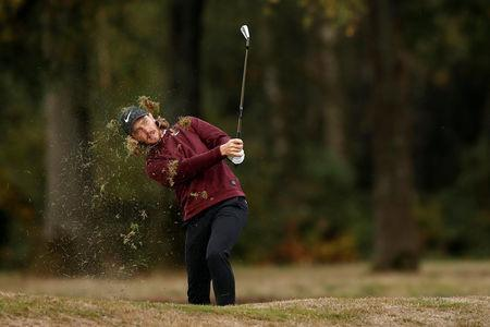Golf - European Tour - British Masters - Walton Heath Golf Club, Walton-on-the-Hill, Britain - October 11, 2018 England's Tommy Fleetwood during the first round Action Images via Reuters/Andrew Boyers