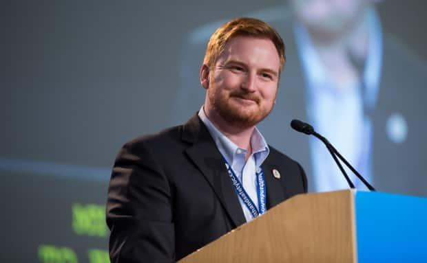 Aaron Ekman was appointed chair of the UNBC board in July 2020. (University of Northern B.C. - image credit)
