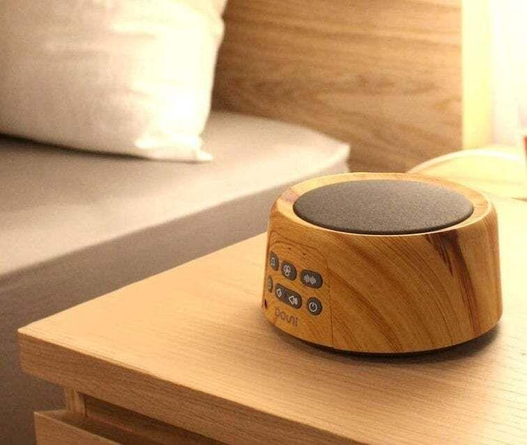 "It has 24 soothing sounds for keeping kids fast asleep. Plus, it's portable.<br /><br /><strong>Promising review:</strong> ""This was the third (maybe fourth) white noise machine I purchased for my baby/toddler's room and it's still getting the job done after nearly a year. <strong>There's a lot of city traffic and a very busy intersection outside our apartment windows and the Douni masks all of it</strong> (except for the occasional blaring ambulance siren). The wood grain is a nice change of pace from all the other white, black, metallic gadgets populating our home."" — <a href=""https://www.buzzfeed.com/jmihaly"" target=""_blank"" rel=""noopener noreferrer"">John Mihaly</a><br /><br /><strong>Get it from Amazon for <a href=""https://amzn.to/3x1dbph"" target=""_blank"" rel=""nofollow noopener noreferrer"" data-skimlinks-tracking=""5669346"" data-vars-affiliate=""Amazon"" data-vars-asin=""B07Q5TLB28"" data-vars-href=""https://www.amazon.com/dp/B07Q5TLB28?tag=bfjohn-20&ascsubtag=5669346%2C19%2C22%2Cmobile_web%2C0%2C0%2C7256033"" data-vars-keywords=""cleaning,fast fashion"" data-vars-link-id=""7256033"" data-vars-price="""" data-vars-product-id=""17889879"" data-vars-product-img=""https://m.media-amazon.com/images/I/51qmxIHaGaL.jpg"" data-vars-product-title=""Douni Sleep Sound Machine - White Noise Machine with 24 Soothing Sounds for Sleeping & Relaxation, Timer & Memory Function,Sleep Therapy for Kid, Adult, Nursery, Home,Office,Travel.Wood Grain"" data-vars-retailers=""Amazon"">$33.95</a>.</strong>"