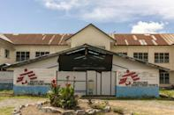 Help: The Doctors Without Borders (MSF) facility in Kananga