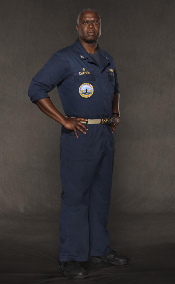 "Andre Braugher stars as Captain Marcus Chaplin in ""Last Resort"" on ABC."