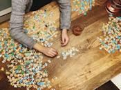 """<p>Challenge yourselves to a huge puzzle and see if you can figure it out in one night.</p><p><a class=""""link rapid-noclick-resp"""" href=""""https://www.amazon.com/Ravensburger-Bizarre-Bookshop-Jigsaw-Puzzle/dp/B00DBWAVYY/?tag=syn-yahoo-20&ascsubtag=%5Bartid%7C10050.g.30445302%5Bsrc%7Cyahoo-us"""" rel=""""nofollow noopener"""" target=""""_blank"""" data-ylk=""""slk:SHOP PUZZLES"""">SHOP PUZZLES</a></p>"""