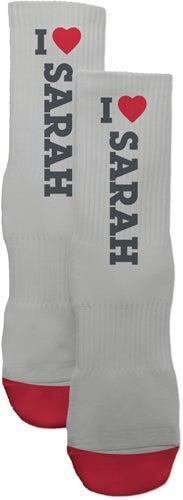 """<h3>Shutterfly I Heart Custom Socks</h3><br>If they like happy socks, they'll love this personalized pair. <br><br><em>Shop <strong><a href=""""https://www.shutterfly.com"""" rel=""""nofollow noopener"""" target=""""_blank"""" data-ylk=""""slk:Shutterfly"""" class=""""link rapid-noclick-resp"""">Shutterfly</a></strong></em><br><br><strong>Shutterfly</strong> I Heart Custom Socks, $, available at <a href=""""https://go.skimresources.com/?id=30283X879131&url=https%3A%2F%2Fwww.shutterfly.com%2Fpersonalized-gifts%2Fcustom-socks%2Fi-heart-custom-socks%3FproductCode%3D1472317"""" rel=""""nofollow noopener"""" target=""""_blank"""" data-ylk=""""slk:Shutterfly"""" class=""""link rapid-noclick-resp"""">Shutterfly</a>"""