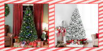 """<p>If you find yourself constantly annoyed by all the needles and maintenance a real tree requires, or if constantly googling <a href=""""https://www.countryliving.com/diy-crafts/a28929460/how-to-fix-christmas-lights/"""" rel=""""nofollow noopener"""" target=""""_blank"""" data-ylk=""""slk:how to fix Christmas lights"""" class=""""link rapid-noclick-resp"""">how to fix Christmas lights</a> stresses you out every year, a faux tree has a ton of benefits. As much we love the charming tradition of visiting a <a href=""""https://www.countryliving.com/life/g24108155/christmas-tree-farms-near-me/"""" rel=""""nofollow noopener"""" target=""""_blank"""" data-ylk=""""slk:Christmas tree farm"""" class=""""link rapid-noclick-resp"""">Christmas tree farm</a> every year and choosing the perfect real tree, it's tempting to make the switch to an artificial Christmas tree this holiday season. Give yourself a break from the mess and the stress. They're so easy to set up and decorate, totally mess-free, and some even come pre-lit with clear or colorful lights and you won't have to figure out <a href=""""https://www.countryliving.com/home-design/decorating-ideas/a45843/how-to-hang-christmas-lights-tree/"""" rel=""""nofollow noopener"""" target=""""_blank"""" data-ylk=""""slk:how to hang Christmas lights"""" class=""""link rapid-noclick-resp"""">how to hang Christmas lights</a>. You'll have so much more time to bake your favorite <a href=""""https://www.countryliving.com/food-drinks/g647/holiday-cookies-1208/"""" rel=""""nofollow noopener"""" target=""""_blank"""" data-ylk=""""slk:holiday cookies"""" class=""""link rapid-noclick-resp"""">holiday cookies</a> or just veg out in front of a Hallmark movie! </p><p>Artificial Christmas trees are much easier on your wallet too, because you can reuse them year after year—compared to the expense of buying a real tree each December. You may even enjoy having the option of getting several small Christmas trees to place around the house, or purchasing the beautiful artificial Noble fir Christmas tree of your dreams <em>and</em> the silver tinsel tree that reminds yo"""