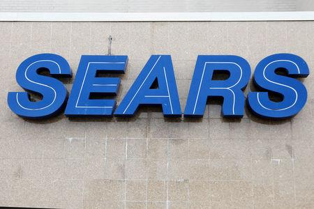 FILE PHOTO: The Sears logo is seen outside a store in Brooklyn, New York
