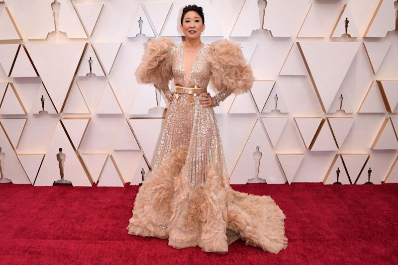 """On the red carpet, Billy Porter dubbed this """"sleeve statement realness."""" We don't have much to add, except: wow."""