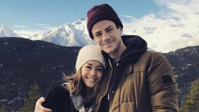 The flash star grant gustin engaged to girlfriend la thoma see the flash star grant gustin engaged to girlfriend la thoma see the ring m4hsunfo