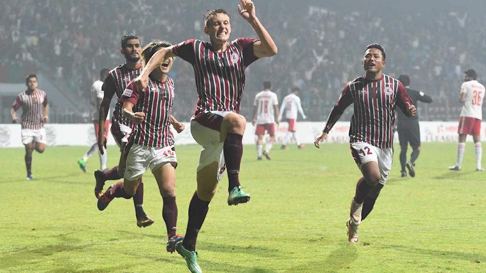 Darryl Duffy Mohun Bagan Aizawl I-League 2017