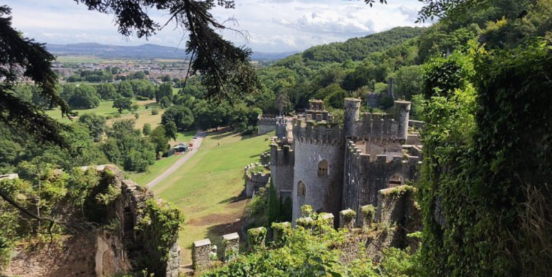 Photo credit: Instagram/Gwrych Castle