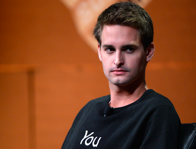 Snap Inc CEO Evan Spiegel (source: AFTP)