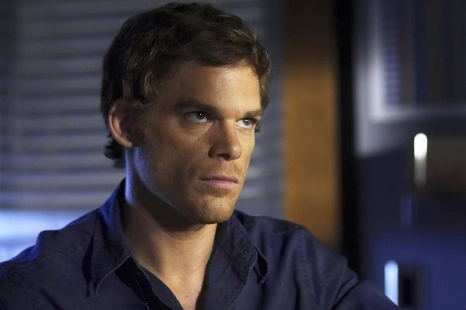 DEXTER, Michael C. Hall, 'Our Father', (Season 3, ep. 301, aired Sept. 28, 2008), 2006-. photo: Dan Littlejohn /  Showtime / Courtesy: Everett Collection