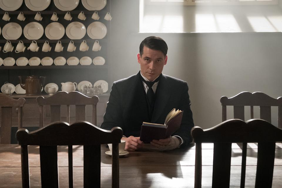 Rob James-Collier as Barrow in 'Downton Abbey' (Credit: Focus Features)