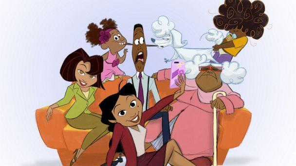 PHOTO: The original voice cast is returning for 'The Proud Family: Louder and Prouder' on Disney+. (Disney+)