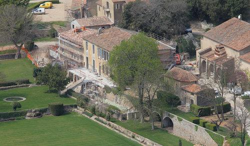 See the French Chateau Where Brad and Angelina Tied the Knot