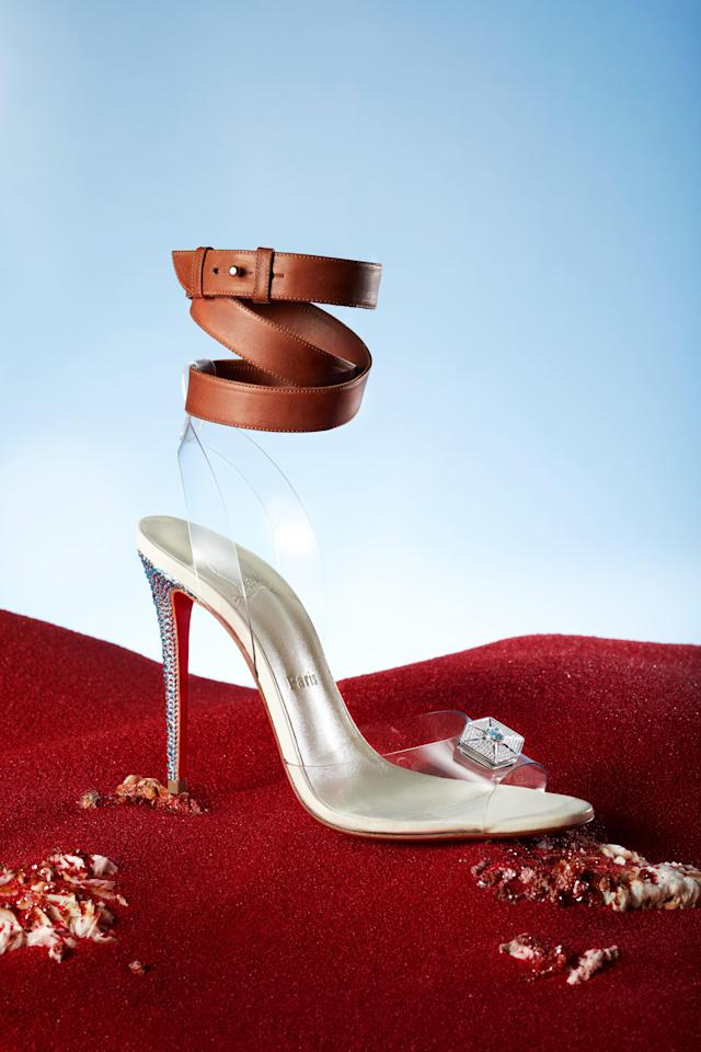 The Rey shoe from Christian Louboutin's collection for <i>Star Wars: The Last Jedi. (Photo: Guillaume Fandel for Disney)</i>
