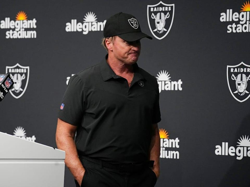 Las Vegas Raiders head coach Jon Gruden released a statement Monday announcing he had stepped down from his position following the New York Times' report the coach had frequently used racist, homophobic and misogynistic comments in emails dating back to 2011. (Rick Scuteri/The Associated Press - image credit)