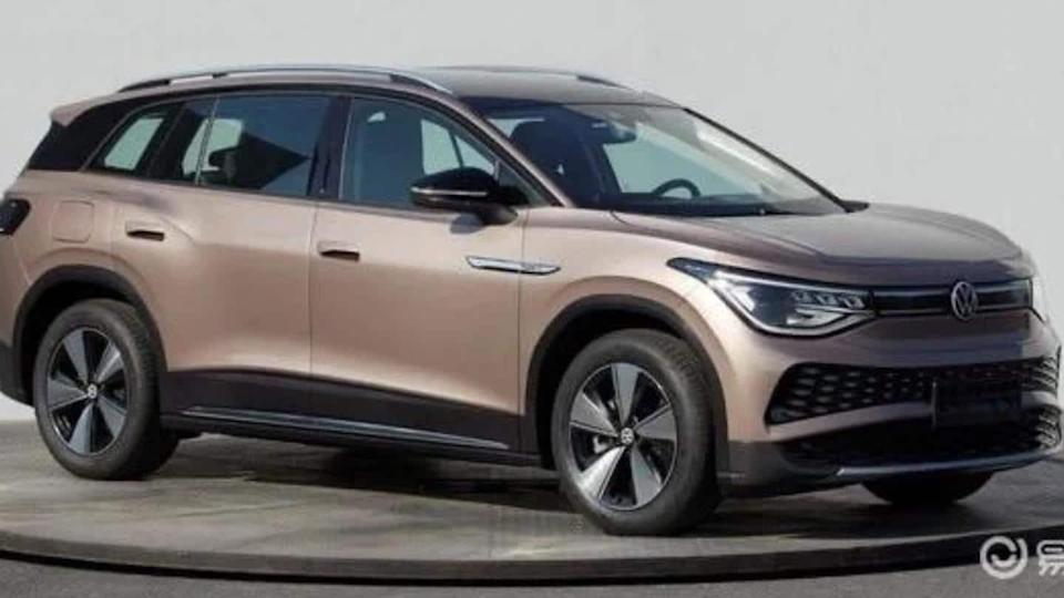 Volkswagen ID.6 electric SUV pictures leaked, design details revealed