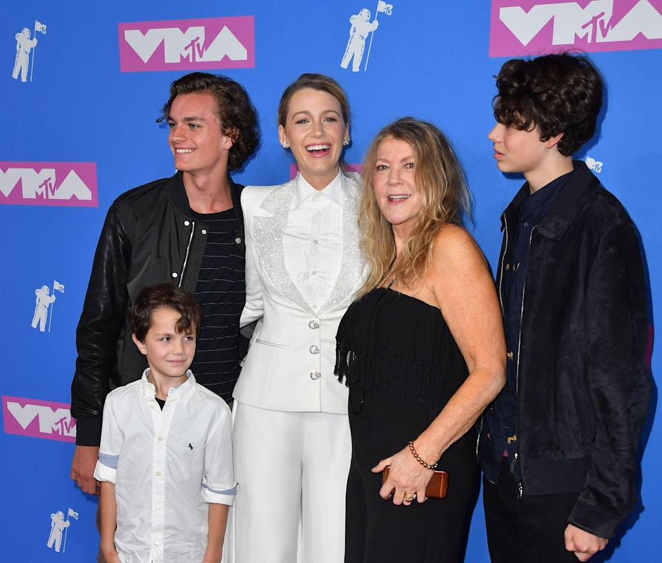 Blake Lively and family members at the VMAs. <i>(Getty Images)</i>