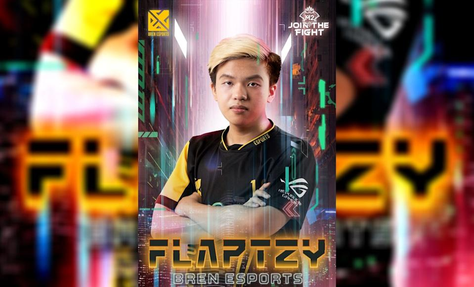 "Bren Esports marksman David ""FlapTzy"" Canon. (Photo: Moonton)"