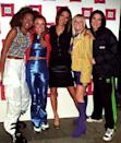 <p>It wouldn't be a '90s gallery without the Spice Girls, and they definitely embraced their personas at every event—including here at the Lloyds Bank British Fashion Awards in London. </p>