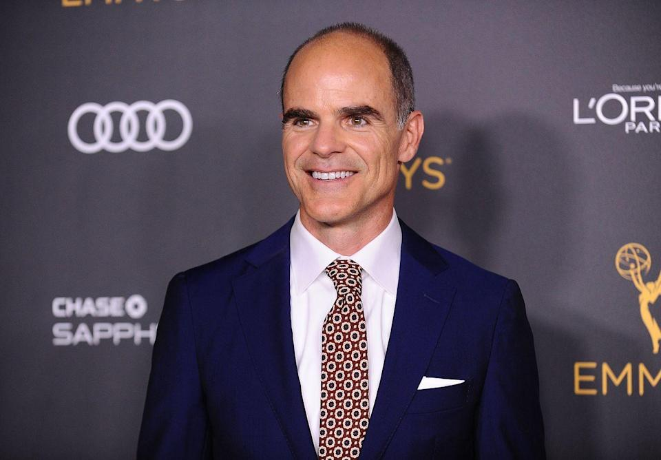 <p>Michael Kelly is no stranger to bringing high-stakes political drama to life—the actor is best known as Doug Stamper on Netflix's <em>House of Cards</em>. In <em>The Comey Rule</em>, Kelly plays FBI Deputy Director Andrew McCabe. </p>