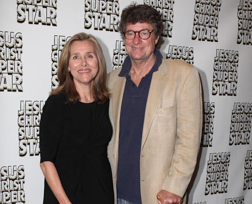 Meredith Vieira with her husband, Richard Cohen, who has multiple sclerosis. (Photo: Getty Images)