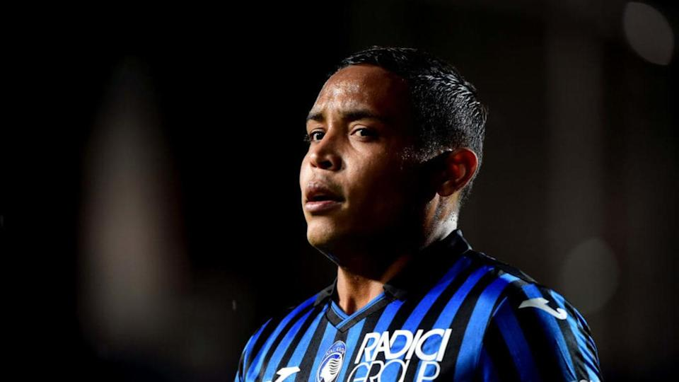 Luis Muriel, attaccante dell'Atalanta   Pier Marco Tacca/Getty Images