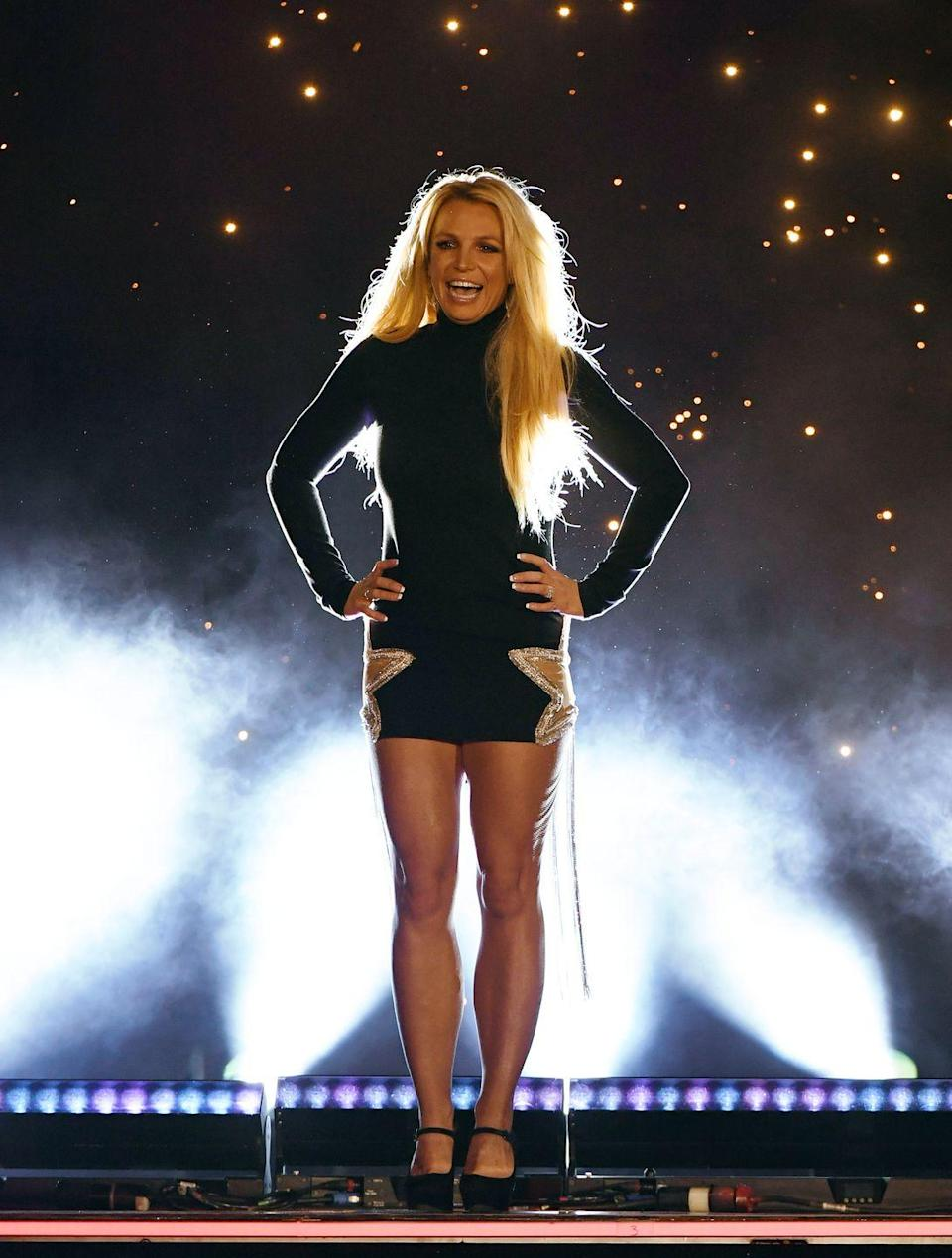 """<p>With her cute bows, Britney made it pretty far in the competition, but despite <a href=""""https://www.youtube.com/watch?v=wWuK5EnXaWU"""" rel=""""nofollow noopener"""" target=""""_blank"""" data-ylk=""""slk:her powerful performances"""" class=""""link rapid-noclick-resp"""">her powerful performances</a>, she didn't take home the top prize. However, she did find her way to the <em>Mickey Mouse Club</em> and then her career took off.</p>"""