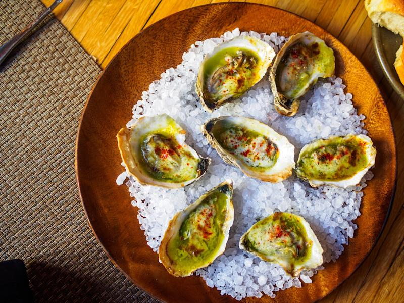 Wood Fired Sewansecott Oysters