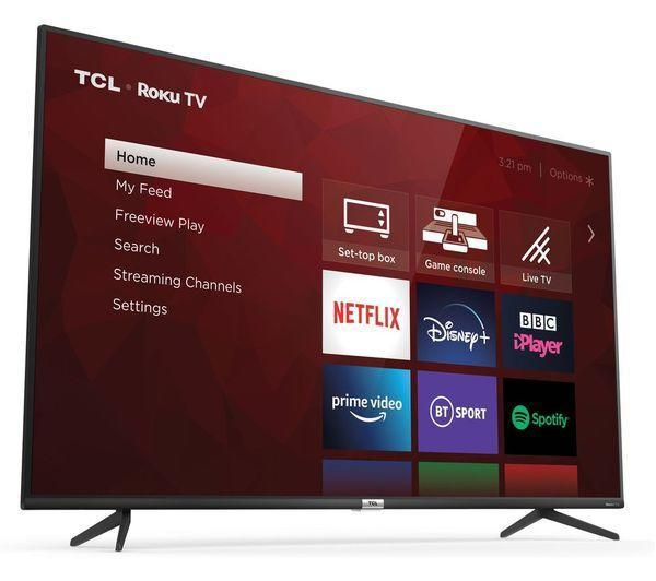 """The TCL <a href=""""https://fave.co/3wdziab"""" rel=""""nofollow noopener"""" target=""""_blank"""" data-ylk=""""slk:50-inch is only £399.99"""" class=""""link rapid-noclick-resp"""">50-inch is only £399.99</a>. (Currys PC World)"""