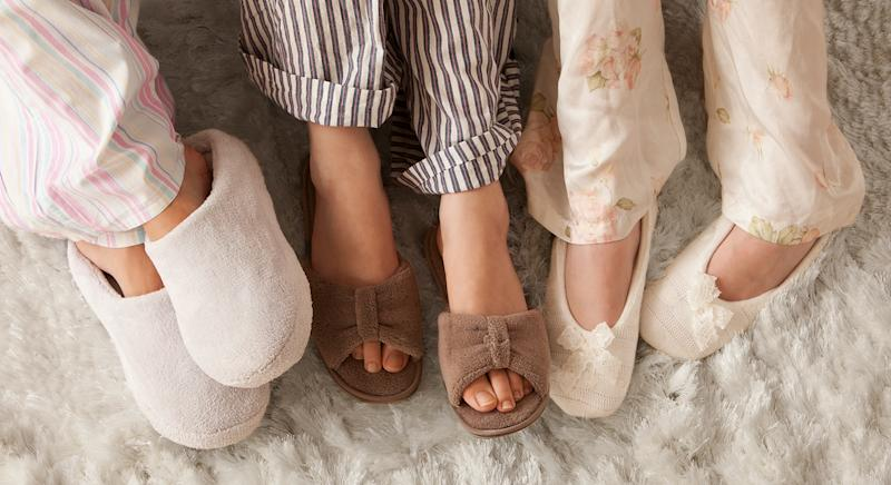 The UGG Scuffette II slippers are the most popular searched fashion item according to Lyst's trend report [Getty]