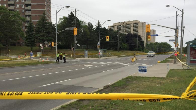 Male pedestrian in his 20s critically injured in hit-and-run in North York