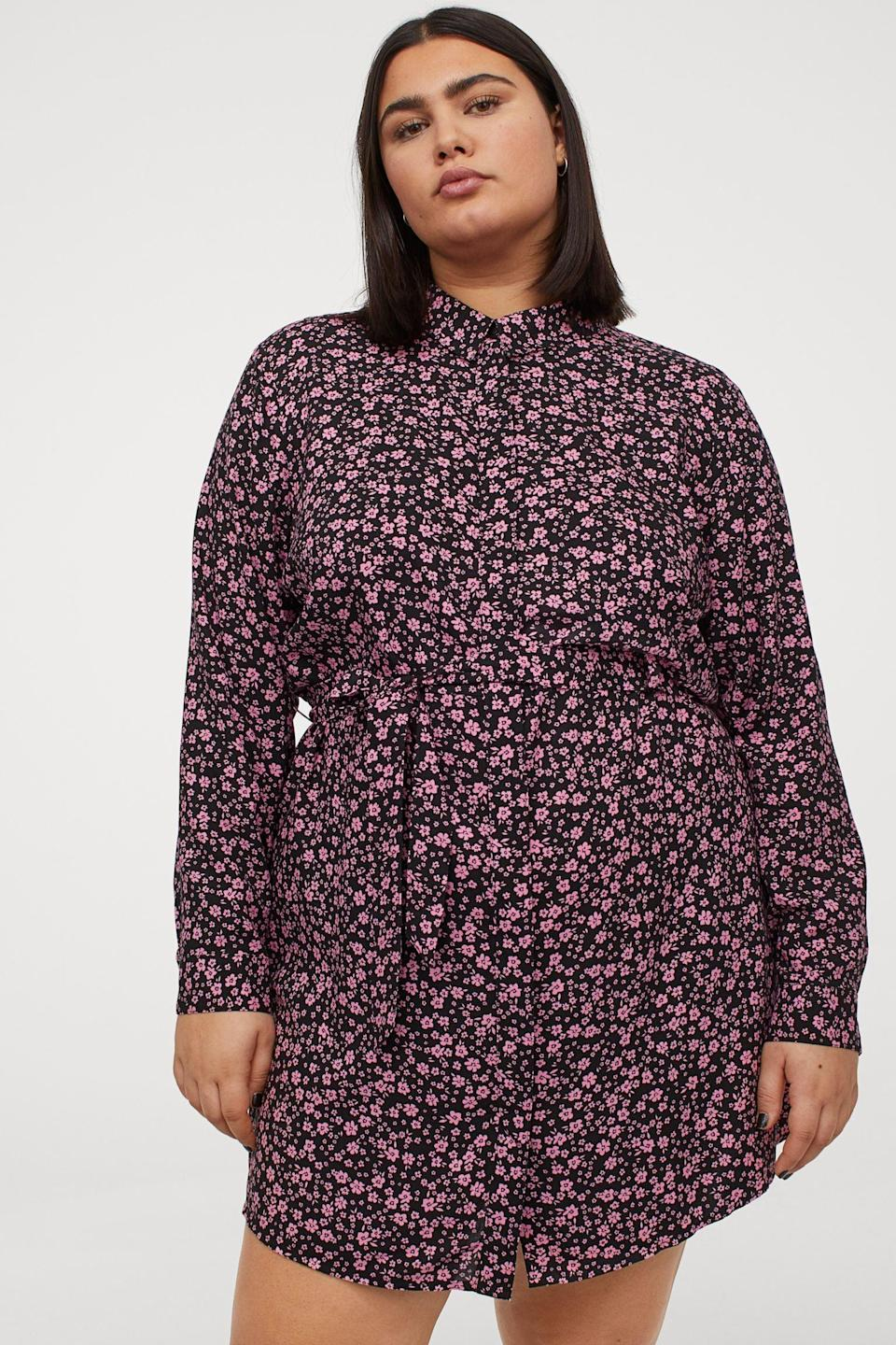 <p>This <span>H&amp;M Shirt Dress</span> ($25) is designed for all your spring adventuring.</p>