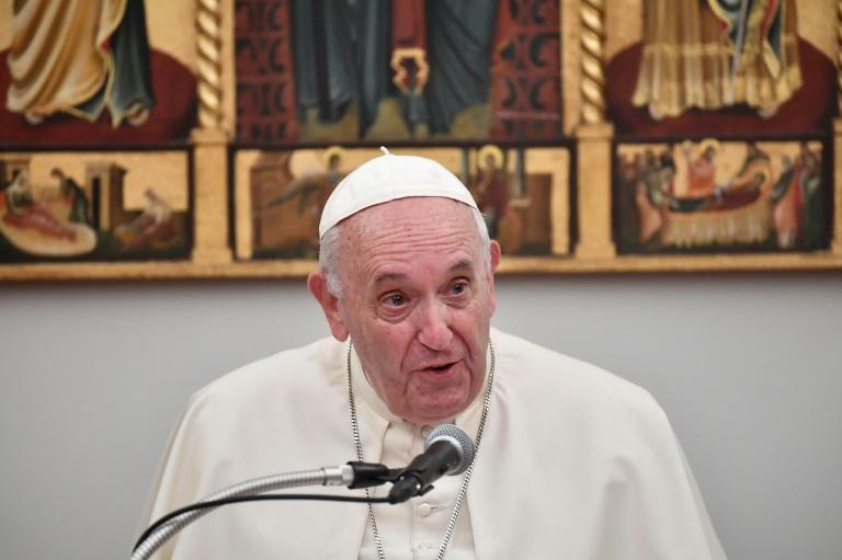 The pontiff railed in a video message to the Japanese people against the 'immoral' use of nuclear weapons
