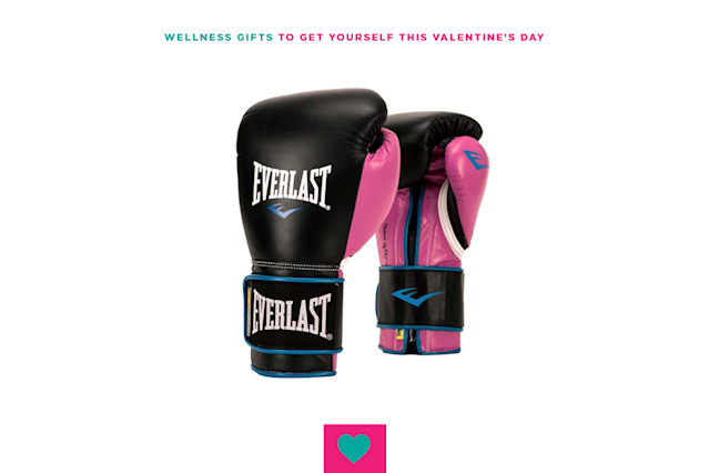 "<p>Always wanted to take up boxing? Why not take it up while rocking pink gloves? $49.99, <a href=""https://www.dickssportinggoods.com/p/everlast-womens-powerlock-training-gloves-16elswpwrlcktrnngbxn/16elswpwrlcktrnngbxn?irgwc=1&camp=AFF:mediapartner:ONLINE_TRACKING_LINK::249354:315573"" rel=""nofollow noopener"" target=""_blank"" data-ylk=""slk:Dick's Sporting Goods."" class=""link rapid-noclick-resp"">Dick's Sporting Goods.</a> </p>"