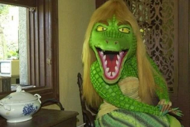 Cuca, the blonde Brazilian alligator, just usurped the Babadook as the internet's new favorite meme