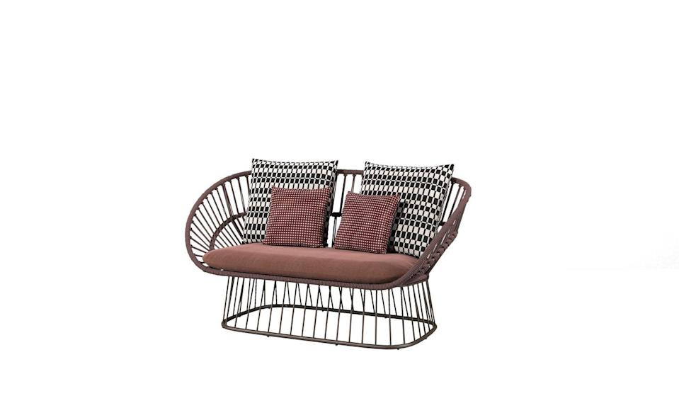 """<p>Available in 30 colours, ranging from neutral to tropical, this outdoor sofa by British design duo Doshi Levien is ideal for people who want to stamp some personality on their garden. From £5,449, <a href=""""https://kettal.com/living/en/cala_2_seater_sofa_doshi_levien"""" rel=""""nofollow noopener"""" target=""""_blank"""" data-ylk=""""slk:Kettal"""" class=""""link rapid-noclick-resp"""">Kettal</a></p>"""