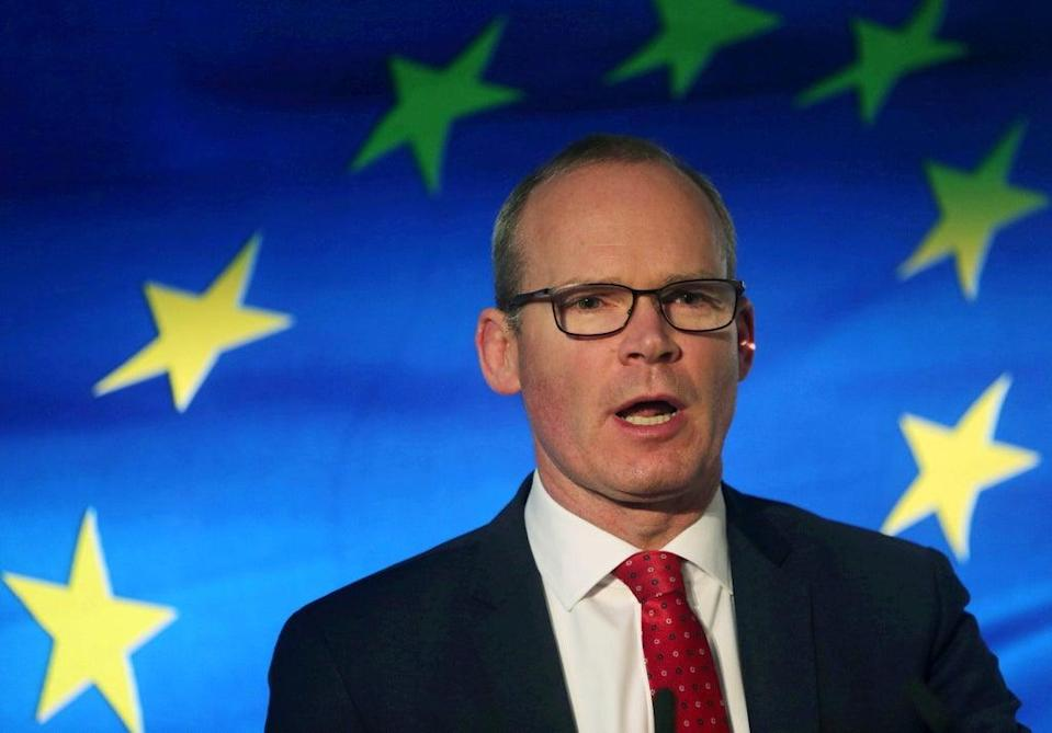Ireland's foreign minister Simon Coveney   (REUTERS)