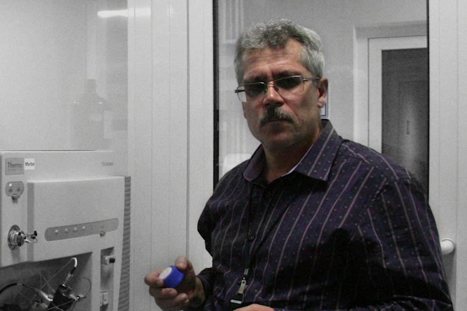 Grigory Rodchenkov in a scene from the 2017 Netflix documentary Icarus, in which he reveals he is overseeing Russia's state-sponsored doping programme (Netflix)