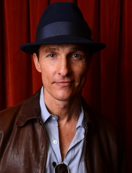 Actor Matthew McConaughey poses for a portrait at the 'Mud' screening at the 2013 SXSW Music, Film + Interactive Festival at the Paramount Theatre on March 10, 2013 in Austin, Texas.