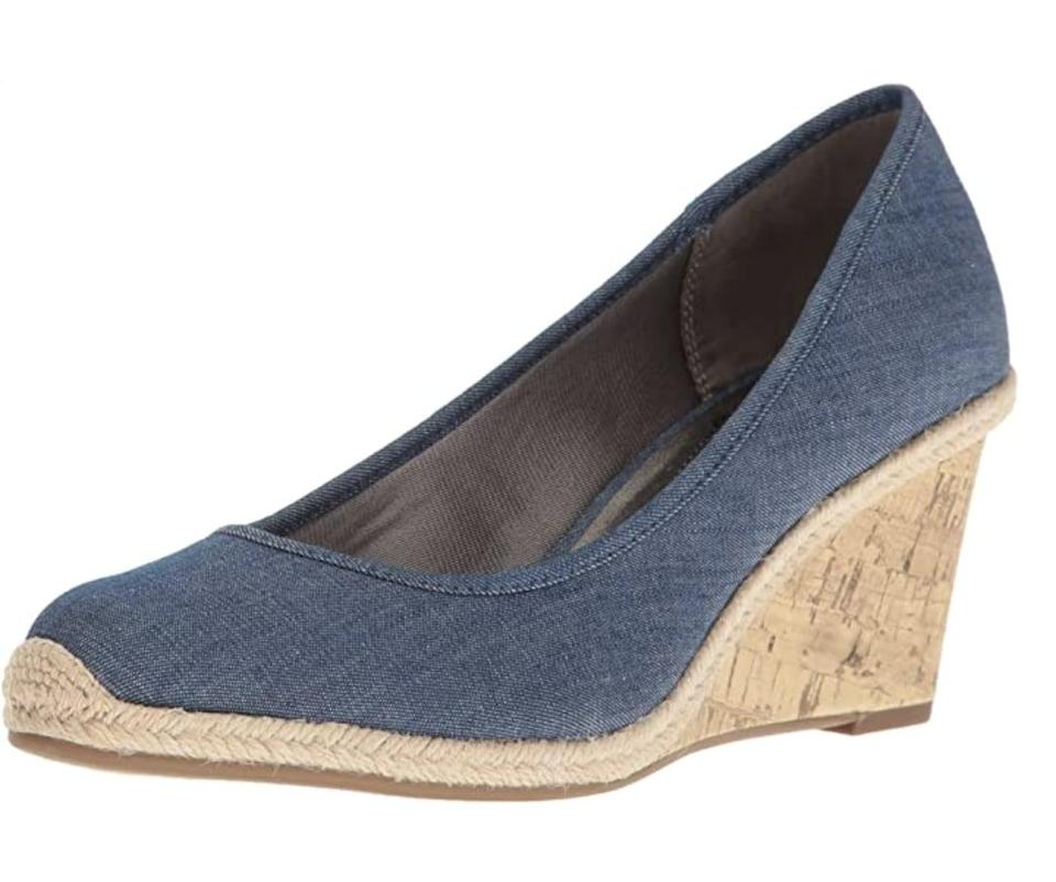 <p>Spice up your work wardrobe with these comfortable-looking <span>LifeStride Listed Wedge Pumps </span> ($60).</p>